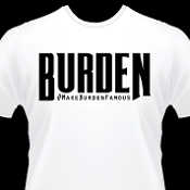 Large Burden T-Shirt (Black)